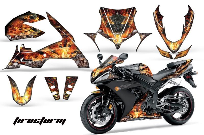 Yamaha R1 Graphics 2010-2012