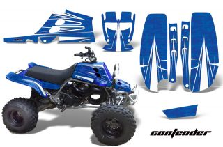 Yamaha Banshee 350 Graphics for Full Bore Plastics