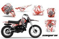 Yamaha-PW80-CreatorX-Graphics-Kit-Samurai-Red-White