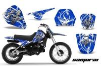 Yamaha-PW80-CreatorX-Graphics-Kit-Samurai-White-Blue
