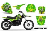 Yamaha-PW80-CreatorX-Graphics-Kit-Samurai-Yellow-Green