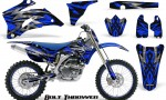 Yamaha YZ 250F 450F 06 09 CreatorX Graphics Kit Bolt Thrower Blue NP Rims 150x90 - Yamaha YZ250F/YZ450F 2006-2009 4 Stroke Graphics