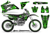 Yamaha-YZ-250F-450F-06-09-CreatorX-Graphics-Kit-Bolt-Thrower-Green-NP-Rims