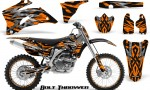 Yamaha YZ 250F 450F 06 09 CreatorX Graphics Kit Bolt Thrower Orange NP Rims 150x90 - Yamaha YZ250F/YZ450F 2006-2009 4 Stroke Graphics