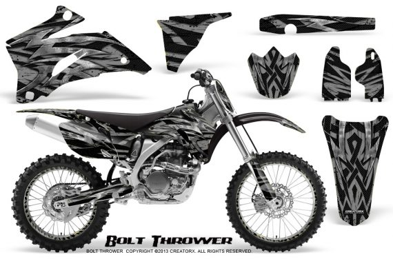 Yamaha YZ 250F 450F 06 09 CreatorX Graphics Kit Bolt Thrower Silver NP Rims 570x376 - Yamaha YZ250F/YZ450F 2006-2009 4 Stroke Graphics