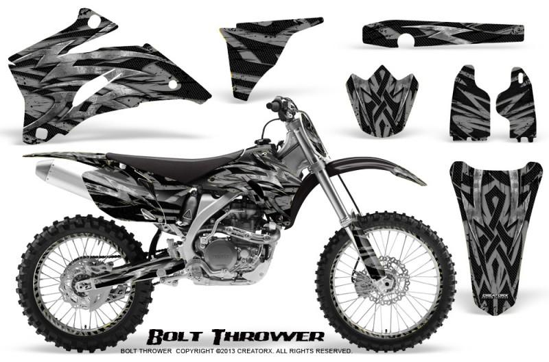 Yamaha-YZ-250F-450F-06-09-CreatorX-Graphics-Kit-Bolt-Thrower-Silver-NP-Rims