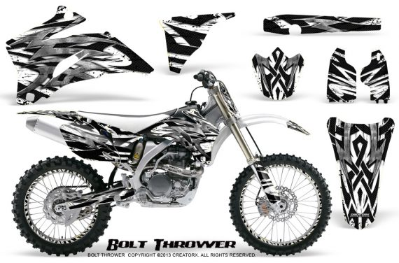 Yamaha YZ 250F 450F 06 09 CreatorX Graphics Kit Bolt Thrower White NP Rims 570x376 - Yamaha YZ250F/YZ450F 2006-2009 4 Stroke Graphics