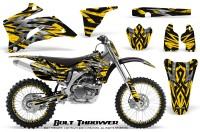 Yamaha-YZ-250F-450F-06-09-CreatorX-Graphics-Kit-Bolt-Thrower-Yellow-NP-Rims