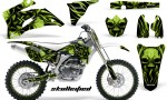 Yamaha YZ 250F 450F 06 09 CreatorX Graphics Kit Skullcified Green NP Rims White 150x90 - Yamaha YZ250F/YZ450F 2006-2009 4 Stroke Graphics