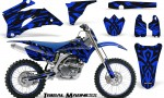 Yamaha YZ 250F 450F 06 09 CreatorX Graphics Kit Tribal Madness Blue NP Rims 150x90 - Yamaha YZ250F/YZ450F 2006-2009 4 Stroke Graphics