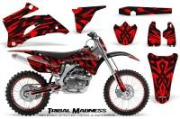 Yamaha-YZ-250F-450F-06-09-CreatorX-Graphics-Kit-Tribal-Madness-Red-NP-Rims