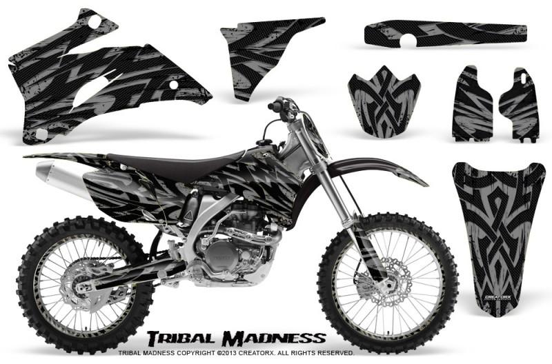 Yamaha-YZ-250F-450F-06-09-CreatorX-Graphics-Kit-Tribal-Madness-Silver-NP-Rims