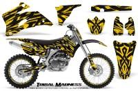 Yamaha-YZ-250F-450F-06-09-CreatorX-Graphics-Kit-Tribal-Madness-Yellow-NP-Rims