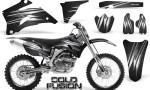 Yamaha YZ 250F 450F 06 09 Graphics Kit Cold Fusion Black NP Rims 150x90 - Yamaha YZ250F/YZ450F 2006-2009 4 Stroke Graphics