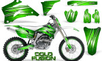 Yamaha YZ 250F 450F 06 09 Graphics Kit Cold Fusion Green NP Rims 150x90 - Yamaha YZ250F/YZ450F 2006-2009 4 Stroke Graphics
