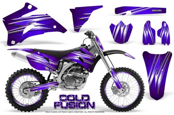 Yamaha YZ 250F 450F 06 09 Graphics Kit Cold Fusion Purple NP Rims 570x376 - Yamaha YZ250F/YZ450F 2006-2009 4 Stroke Graphics