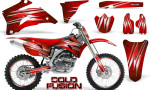 Yamaha YZ 250F 450F 06 09 Graphics Kit Cold Fusion Red NP Rims 150x90 - Yamaha YZ250F/YZ450F 2006-2009 4 Stroke Graphics