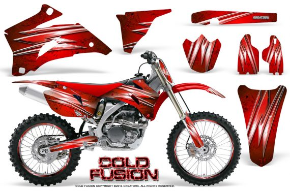 Yamaha YZ 250F 450F 06 09 Graphics Kit Cold Fusion Red NP Rims 570x376 - Yamaha YZ250F/YZ450F 2006-2009 4 Stroke Graphics