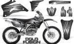 Yamaha YZ 250F 450F 06 09 Graphics Kit Cold Fusion Silver NP Rims 150x90 - Yamaha YZ250F/YZ450F 2006-2009 4 Stroke Graphics