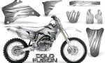 Yamaha YZ 250F 450F 06 09 Graphics Kit Cold Fusion White NP Rims 150x90 - Yamaha YZ250F/YZ450F 2006-2009 4 Stroke Graphics