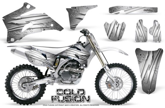 Yamaha YZ 250F 450F 06 09 Graphics Kit Cold Fusion White NP Rims 570x376 - Yamaha YZ250F/YZ450F 2006-2009 4 Stroke Graphics