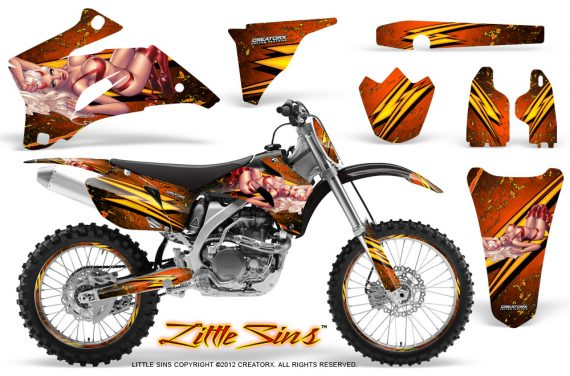 Yamaha YZ 250F 450F 06 09 Little Sins Orange NP Rims 570x376 - Yamaha YZ250F/YZ450F 2006-2009 4 Stroke Graphics