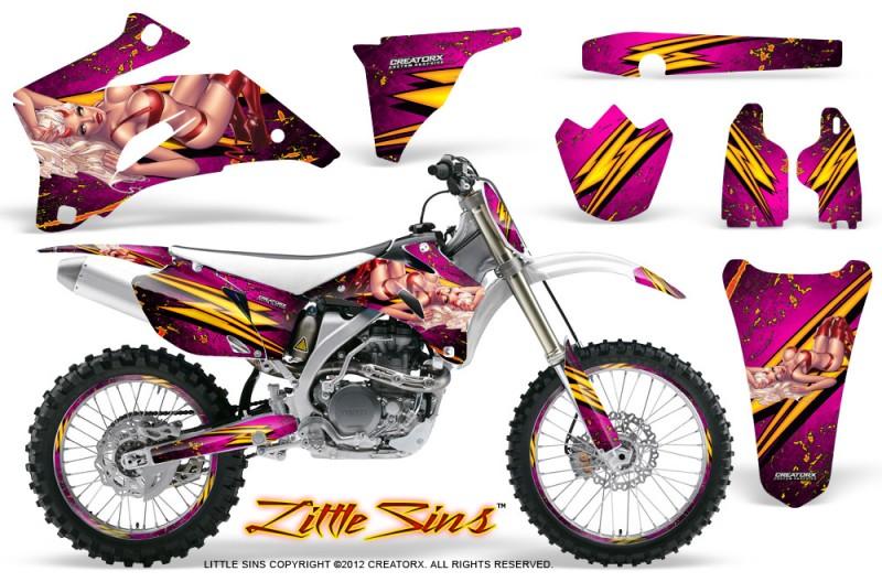 Yamaha-YZ-250F-450F-06-09-Little-Sins-Pink-NP-Rims