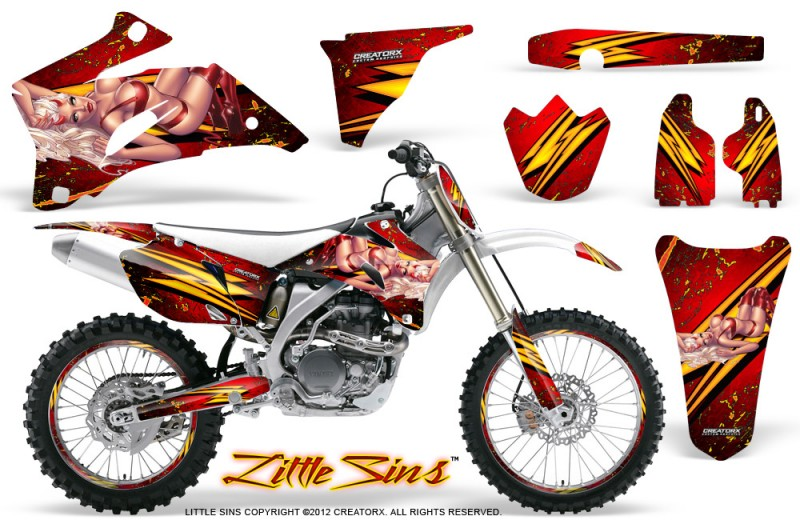 Yamaha-YZ-250F-450F-06-09-Little-Sins-Red-NP-Rims