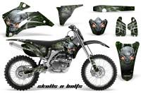 Yamaha-YZ-250F-450F-06-09-Skulls-n-Bolts-Metal-Green-BB-NP-Rims