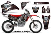 Yamaha-YZ-250F-450F-06-09-Skulls-n-Bolts-Metal-Red-RB-NP-Rims