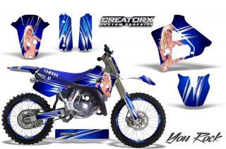 Yamaha YZ125 2 Stroke Graphics 1991-1992