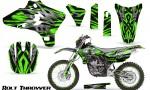 Yamaha YZ250 YZ450 03 05 WR250 WR450 05 06 CreatorX Graphics Kit Bolt Thrower Green NP Rims 150x90 - Yamaha YZ250F/YZ450F 4 Stroke 2003-2005 Graphics