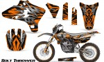Yamaha YZ250 YZ450 03 05 WR250 WR450 05 06 CreatorX Graphics Kit Bolt Thrower Orange NP Rims 150x90 - Yamaha YZ250F/YZ450F 4 Stroke 2003-2005 Graphics