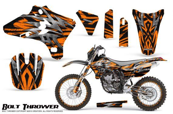 Yamaha YZ250 YZ450 03 05 WR250 WR450 05 06 CreatorX Graphics Kit Bolt Thrower Orange NP Rims 570x376 - Yamaha YZ250F/YZ450F 4 Stroke 2003-2005 Graphics