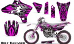 Yamaha YZ250 YZ450 03 05 WR250 WR450 05 06 CreatorX Graphics Kit Bolt Thrower Pink NP Rims 150x90 - Yamaha YZ250F/YZ450F 4 Stroke 2003-2005 Graphics