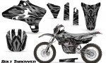 Yamaha YZ250 YZ450 03 05 WR250 WR450 05 06 CreatorX Graphics Kit Bolt Thrower Silver NP Rims 150x90 - Yamaha YZ250F/YZ450F 4 Stroke 2003-2005 Graphics