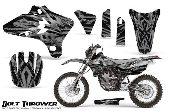 Yamaha YZ250 YZ450 03 05 WR250 WR450 05 06 CreatorX Graphics Kit Bolt Thrower Silver NP Rims 570x376 - Yamaha YZ250F/YZ450F 4 Stroke 2003-2005 Graphics