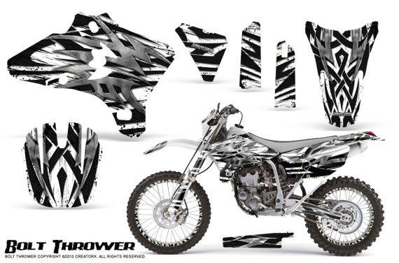 Yamaha YZ250 YZ450 03 05 WR250 WR450 05 06 CreatorX Graphics Kit Bolt Thrower White NP Rims 570x376 - Yamaha YZ250F/YZ450F 4 Stroke 2003-2005 Graphics