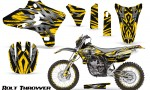Yamaha YZ250 YZ450 03 05 WR250 WR450 05 06 CreatorX Graphics Kit Bolt Thrower Yellow NP Rims 150x90 - Yamaha YZ250F/YZ450F 4 Stroke 2003-2005 Graphics