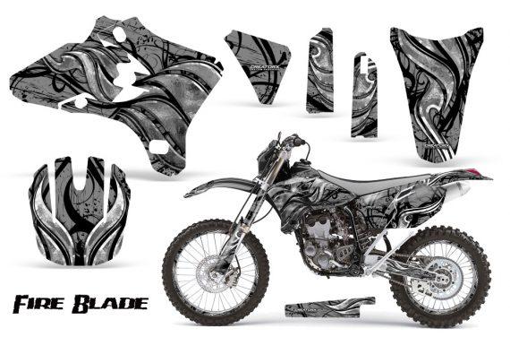 Yamaha YZ250 YZ450 03 05 WR250 WR450 05 06 CreatorX Graphics Kit Fire Blade Black Silver BB NP Rims 570x376 - Yamaha YZ250F/YZ450F 4 Stroke 2003-2005 Graphics