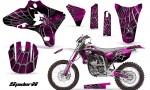 Yamaha YZ250 YZ450 03 05 WR250 WR450 05 06 CreatorX Graphics Kit SpiderX Pink WB NP Rims 150x90 - Yamaha YZ250F/YZ450F 4 Stroke 2003-2005 Graphics