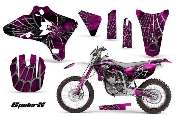 Yamaha YZ250 YZ450 03 05 WR250 WR450 05 06 CreatorX Graphics Kit SpiderX Pink WB NP Rims 570x376 - Yamaha YZ250F/YZ450F 4 Stroke 2003-2005 Graphics