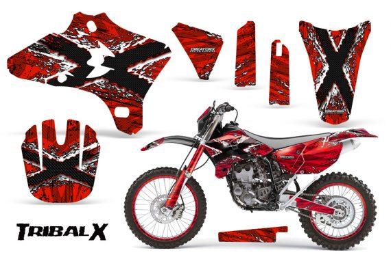 Yamaha YZ250 YZ450 03 05 WR250 WR450 05 06 CreatorX Graphics Kit TribalX White Red NP Rims 570x376 - Yamaha YZ250F/YZ450F 4 Stroke 2003-2005 Graphics