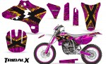 Yamaha YZ250 YZ450 03 05 WR250 WR450 05 06 CreatorX Graphics Kit TribalX Yellow Pink NP Rims 150x90 - Yamaha YZ250F/YZ450F 4 Stroke 2003-2005 Graphics