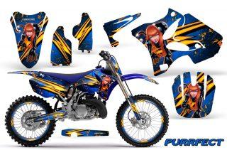 Yamaha YZ125 YZ250 2 Stroke Graphics 1996-2013