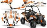 Polaris ACE Sportsman Graphic Kit Wrap Carbon X O 150x90 - Polaris Sportsman ACE 325 570 2014-2016 Graphics