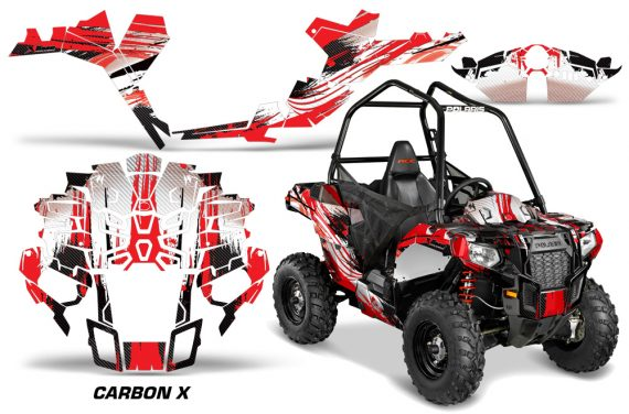 Polaris-ACE-Sportsman-Graphic-Kit-Wrap-Carbon-X-R