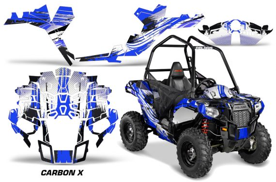 Polaris-ACE-Sportsman-Graphic-Kit-Wrap-Carbon-X-U