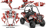 Polaris ACE Sportsman Graphic Kit Wrap Mad Hatter WR 150x90 - Polaris Sportsman ACE 325 570 2014-2016 Graphics