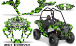 Polaris Sportsman ACE CreatorX Graphics Kit Bolt Thrower Green 150x90 - Polaris Sportsman ACE 325 570 2014-2016 Graphics